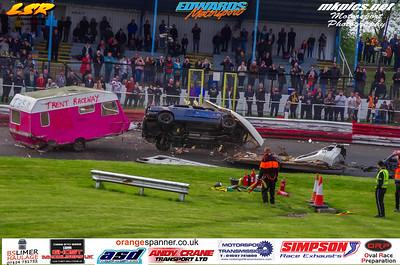 Caravan Destruction Derby, Hednesford, 6 May 2019