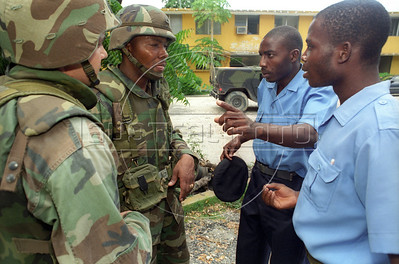 """US """"intervasion"""" of Haiti, 1994"""