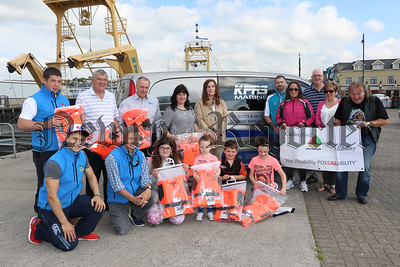 CARLINGFORD LOUGH SAILABILITY RECEIVE LIFE JACKETS