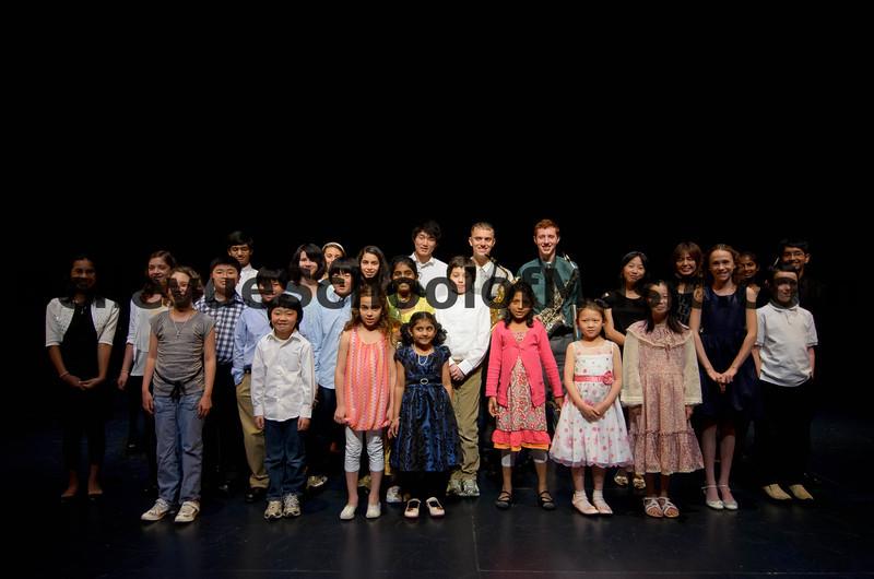 Bellevue School of Music Spring Recital 2012 Group Photo