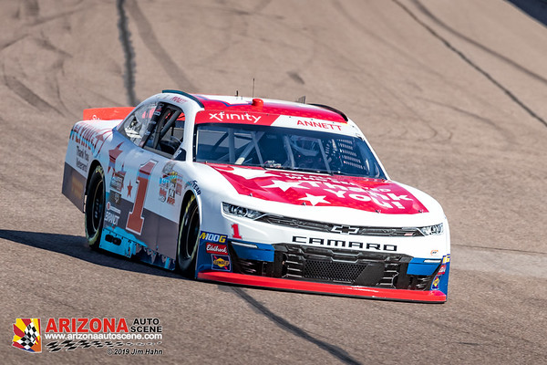 Nascar Monster Energy and Xfinity Series Practice from ISM Raceway