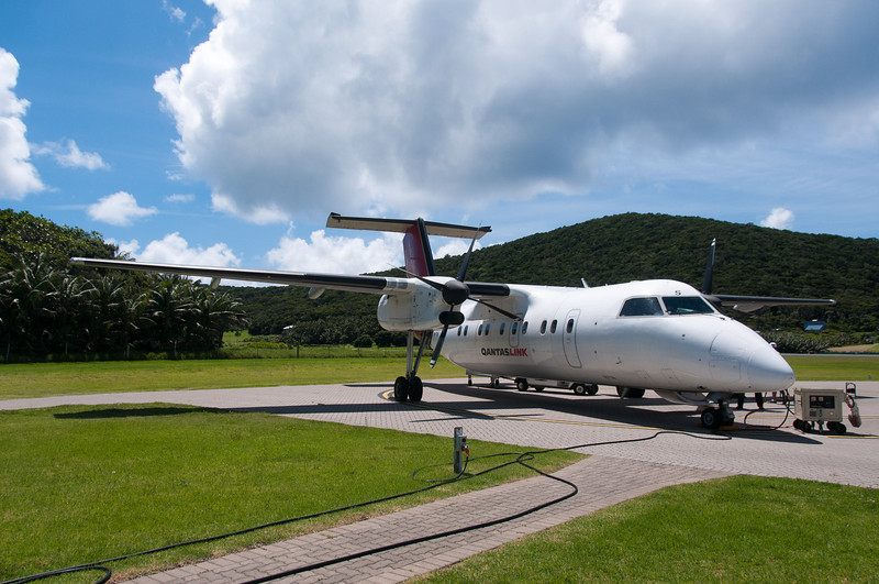Jet in Lord Howe Island