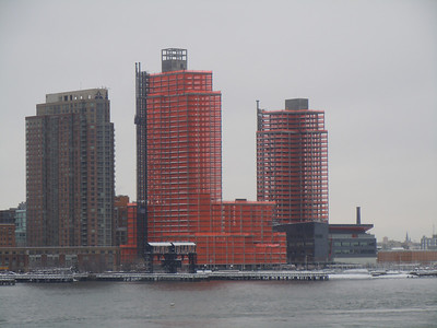 United Nations view in the winter of 2014