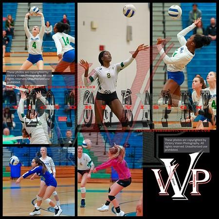 Woodbridge @ Forest Park Varsity Girls Volleyball 10-23-18 | Cardinal District Semi-Finals