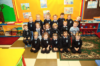 New Primary 1 pupils at St Joseph's PS Bessbrook. Pictured are Mrs Mackin's class. R1338019