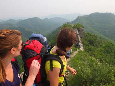 panlongshan great wall hiking