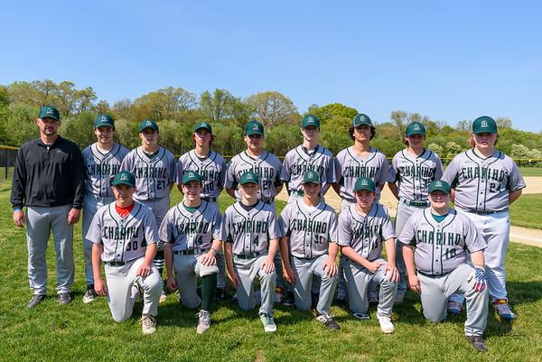 Chariho JV Baseball - May 2021