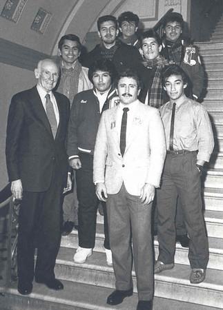 Civics with Senator Cranston