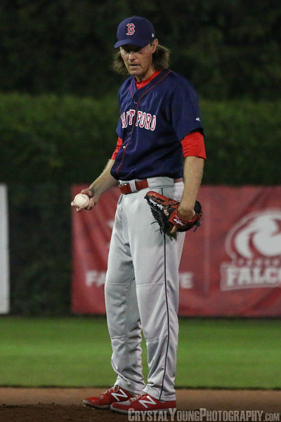 Brantford Red Sox at London Majors London Majors Alumni Night July 22, 2017