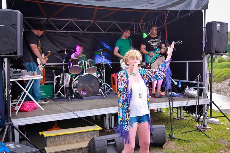 Caerleon Arts Festival 2014 The Hanbury Arms stage