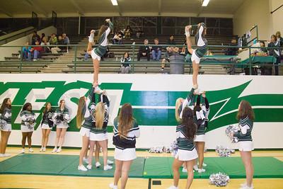 01-18-12 Cheer Basketball vs Calvary
