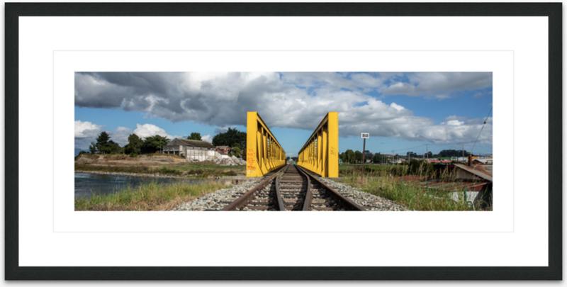 Chile - Die gelbe Brücke