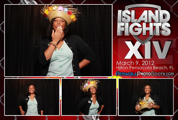 Island Fights XIV 3-9-2012 - Group And Single Photos