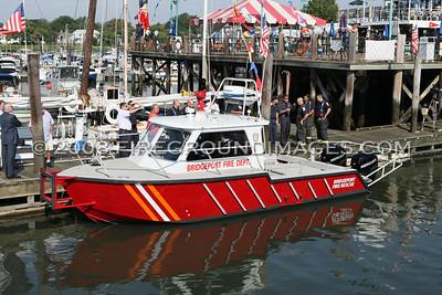 New Bridgeport Fireboat (Bridgeport, Ct) 8/19/08