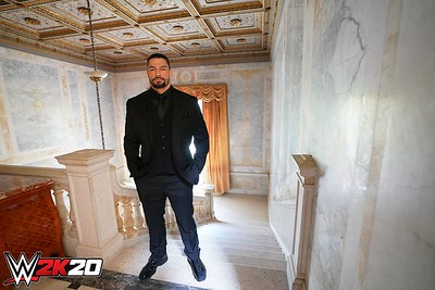 Roman Reigns - Behind the Scenes at WWE2K20