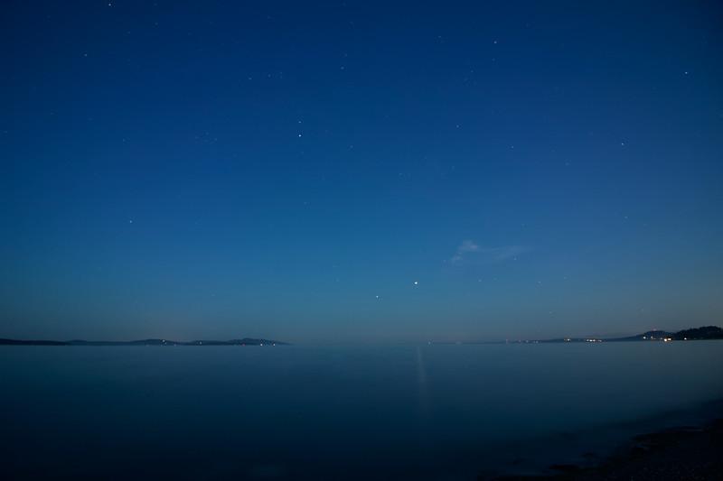 Night Sky over Haro Strait