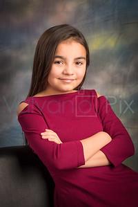 Mia's 10 Year Portraits