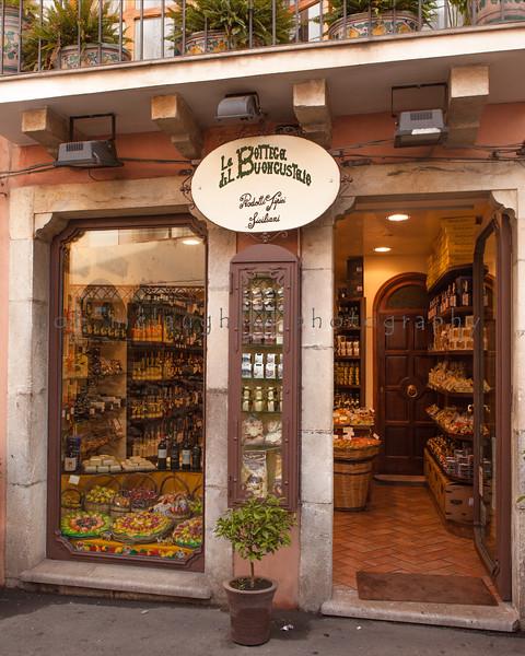 Prodotti Tipici Siciliani , Taormina , Sicily