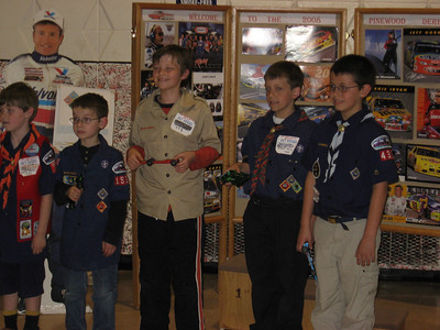 2008 Pinewood Derby Districts