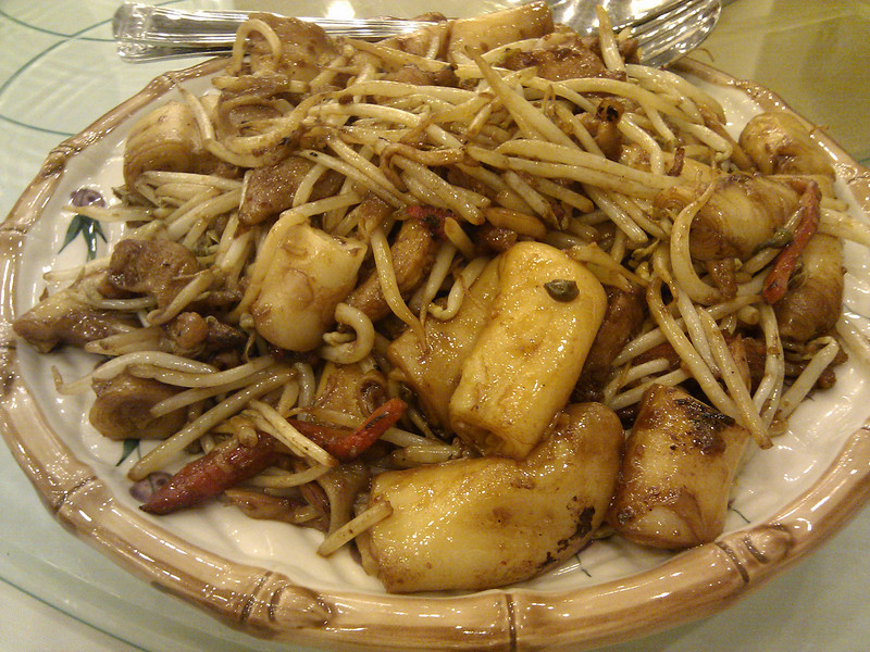 Happy Harbor Restaurant - Assorted Mixed Pan Fried Noodle in X.O. Sauce