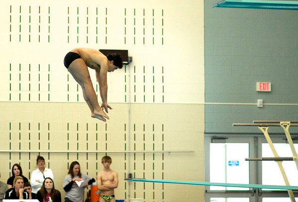Devin Bacha at KS State HS Swim & Dive Meet 2011