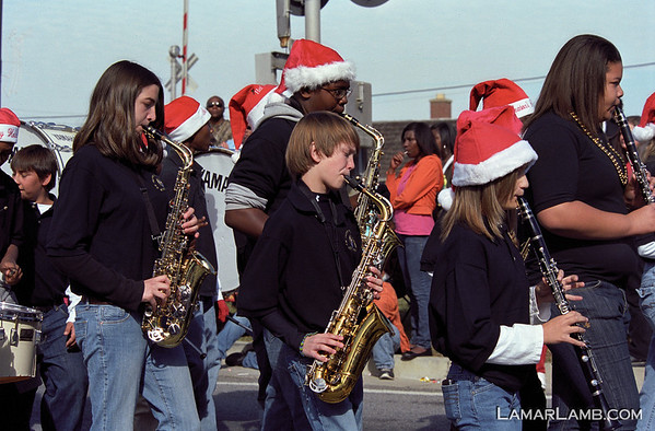 Vidalia Christmas Parade 2010 (On Film)