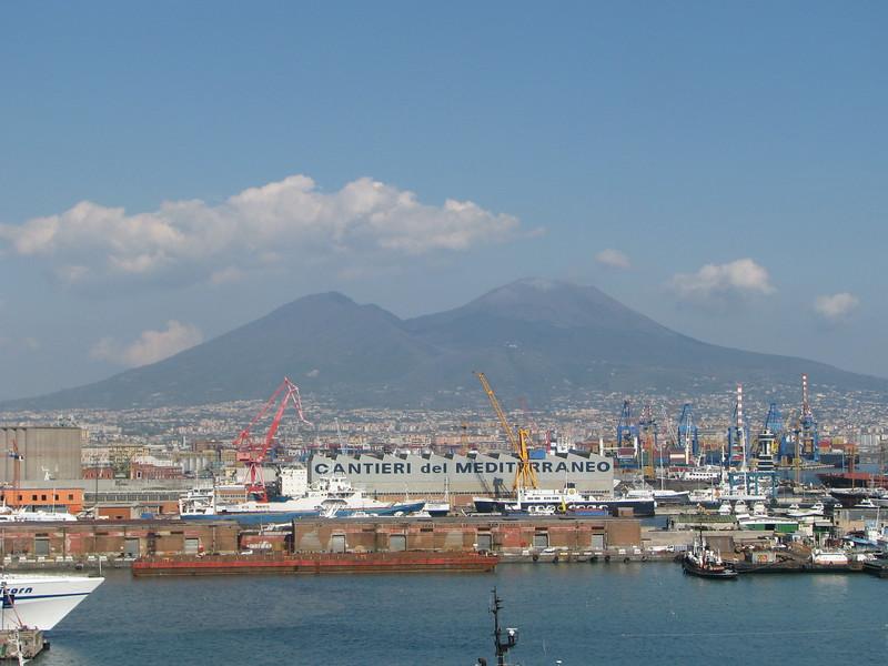Mount Vesuvius, Naples