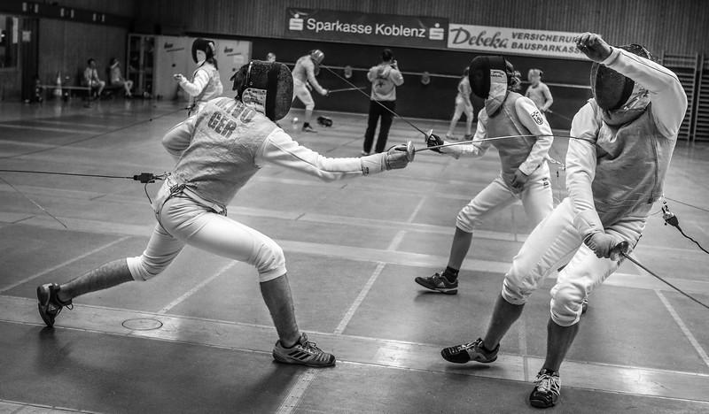 Moritz IVO (GER), Lukas HORNE (GER); Koblenz, Deutschland - 20.03.19; Mittwochstraining    Photos by: Jan von Uxkull-Gyllenband