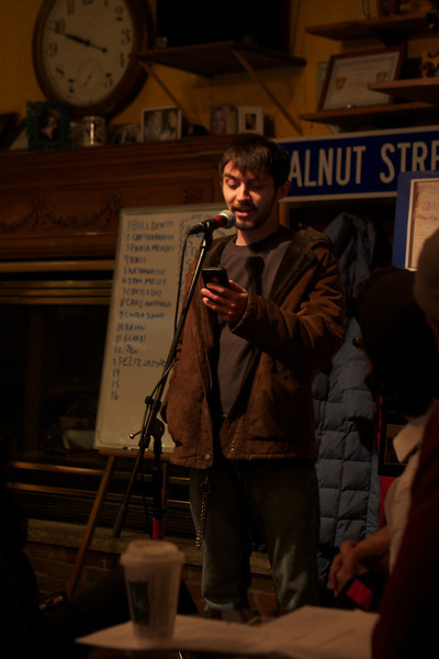 2014 Poetry Night at the Walnut St Cafe