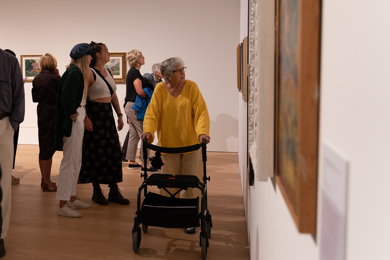 Sept 20th, 2019 - Opening of the Emily Carr Exhibition at the Audain Art Museum in Whistler BC. Photography by Martin Bell for Scott Brammer Photography