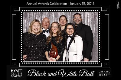 January 12, 2018 - Hyatt Seattle Annual Banquet