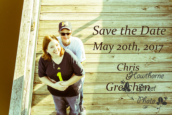 Chris and Gretchen