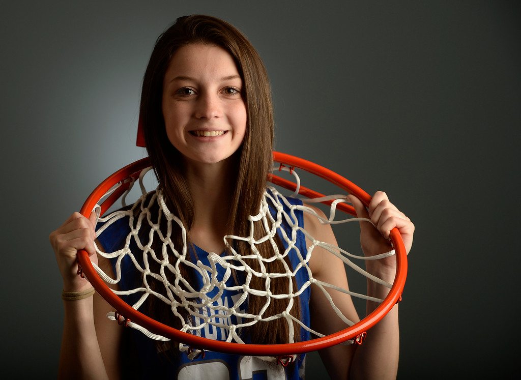 . Brenna Chase from Broomfield High School for the Colorado All-State basketball team at The Denver Post on Wednesday, March 30, 2016.  (Photo by Cyrus McCrimmon/ The Denver Post)