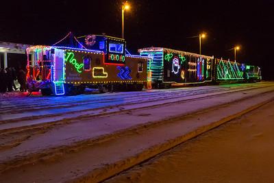 Santa Claus Parade & Christmas Train 2013