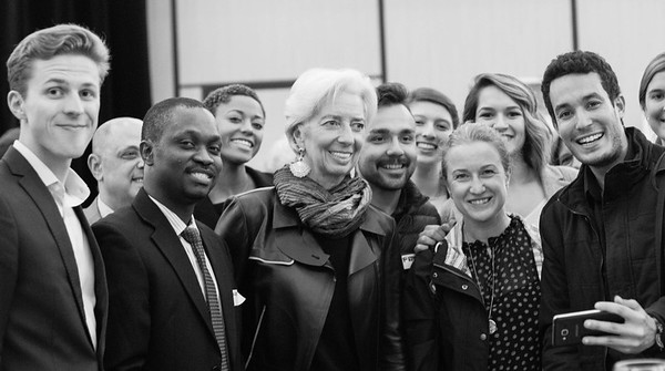 Green Diplomacy Day in DC with Ms Lagarde, IMF Managing Director on Nov. 1, 2017
