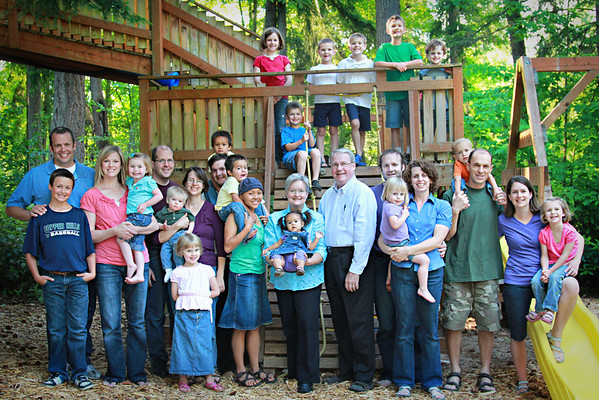 McMullin's Family 2011