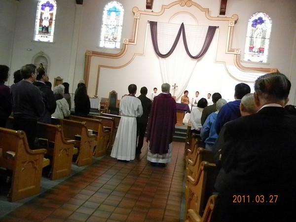First Scruntiny + Jesuit Dinner 2011/03/27
