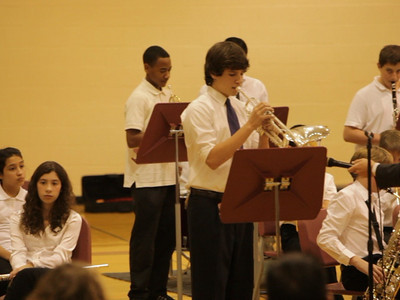 Middle School Fall Concert 10