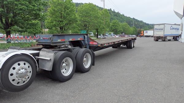 USN USAF M270A1 step deck trailer