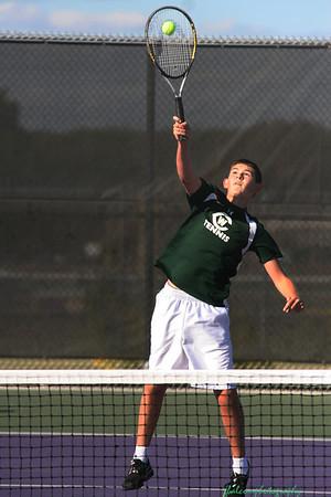 WC Boys Tennis vs Greenville