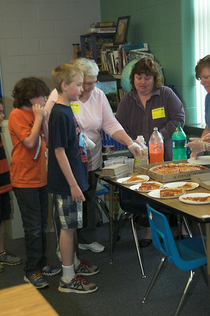 South School Pizza Party 2014