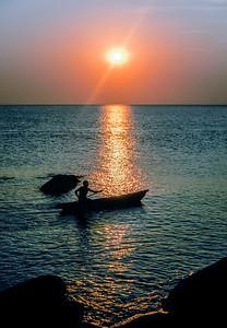 Sunrise on Lake Malawi