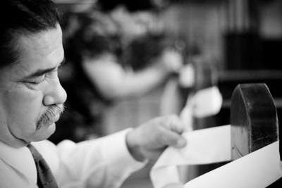 The Reyes Wedding - Black and White