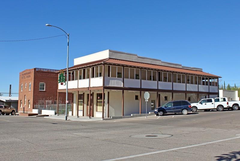 Restored Magma Hotel main building (2017)