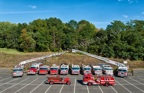 Newington Fire Department Apparatus Shoot