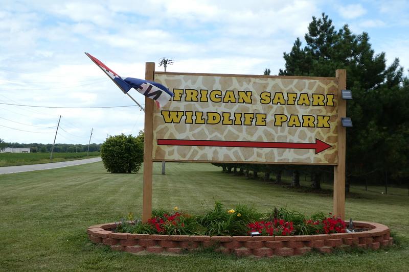 Trust me... It says 'African Safari Wildlife Park'