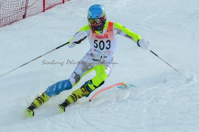 Men Slalom 1st Run