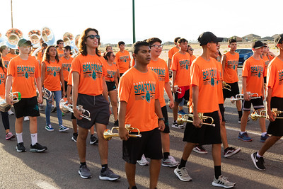 Pebble Hills Homecoming Parade