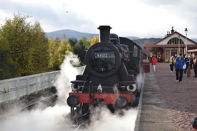 Inverness & Strathspey Railway, 14-17 October 2016