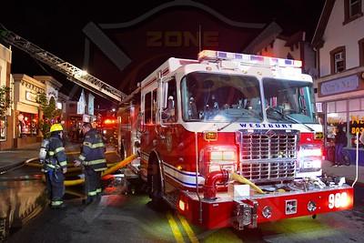 Westbury F.D. Working Fire   Post Ave. 5/22/21